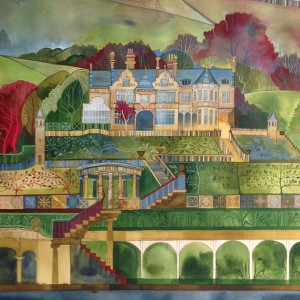 cragg hall painting 1 2nd stage
