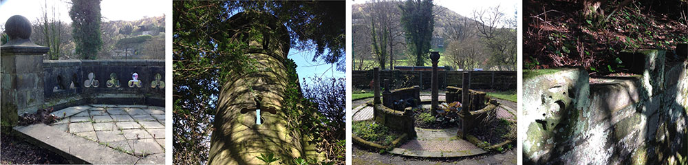 cragg vale ruin details