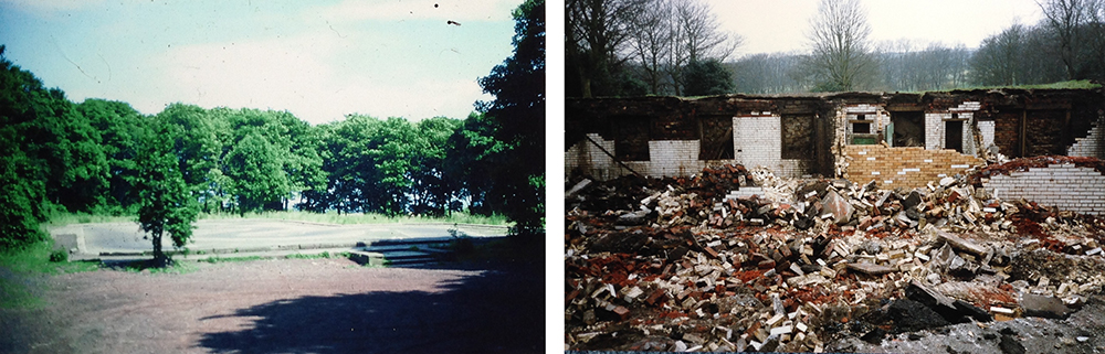 demolished site